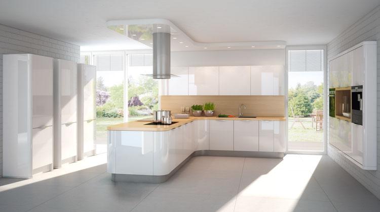 designkueche nova lack 731 2 mega k chenwelten. Black Bedroom Furniture Sets. Home Design Ideas