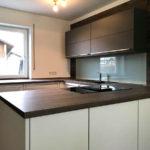 Design-Küche mit hochwertigen Materialien