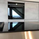 tolle Design-Küche in Betonoptik und Absetzungen in Gladstone OAK NB