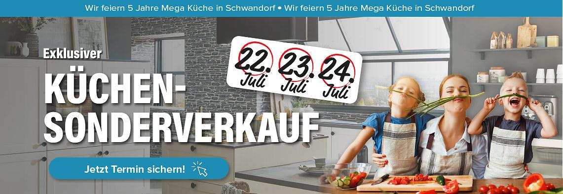 3 Tage exklusiver Küchen-Sonderverkauf in Schwandorf!