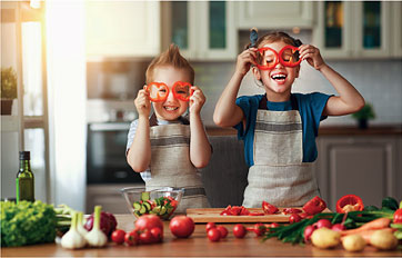 Freude an und in der neuen Küche